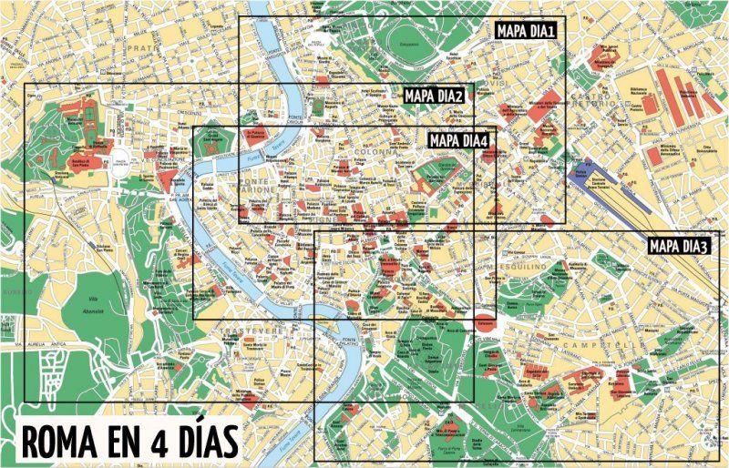 Mapa Turistico De Florencia.Imprimir Italia Lugares De Interes Mapa Monumentos Pdf