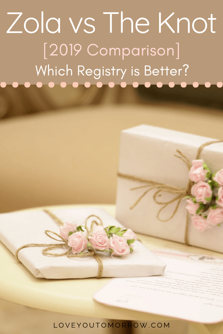 Zola And The Knot Are Two Of The Biggest Names When It Comes To Wedding Registries And When We The Knot Wedding Website Luxury Wedding Planner Wedding Website