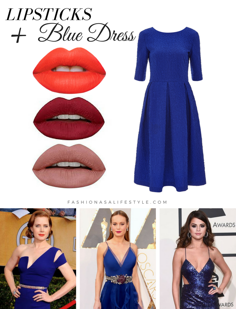 How to pick a lipstick with the color of your dress - Fashion as a Lifestyle