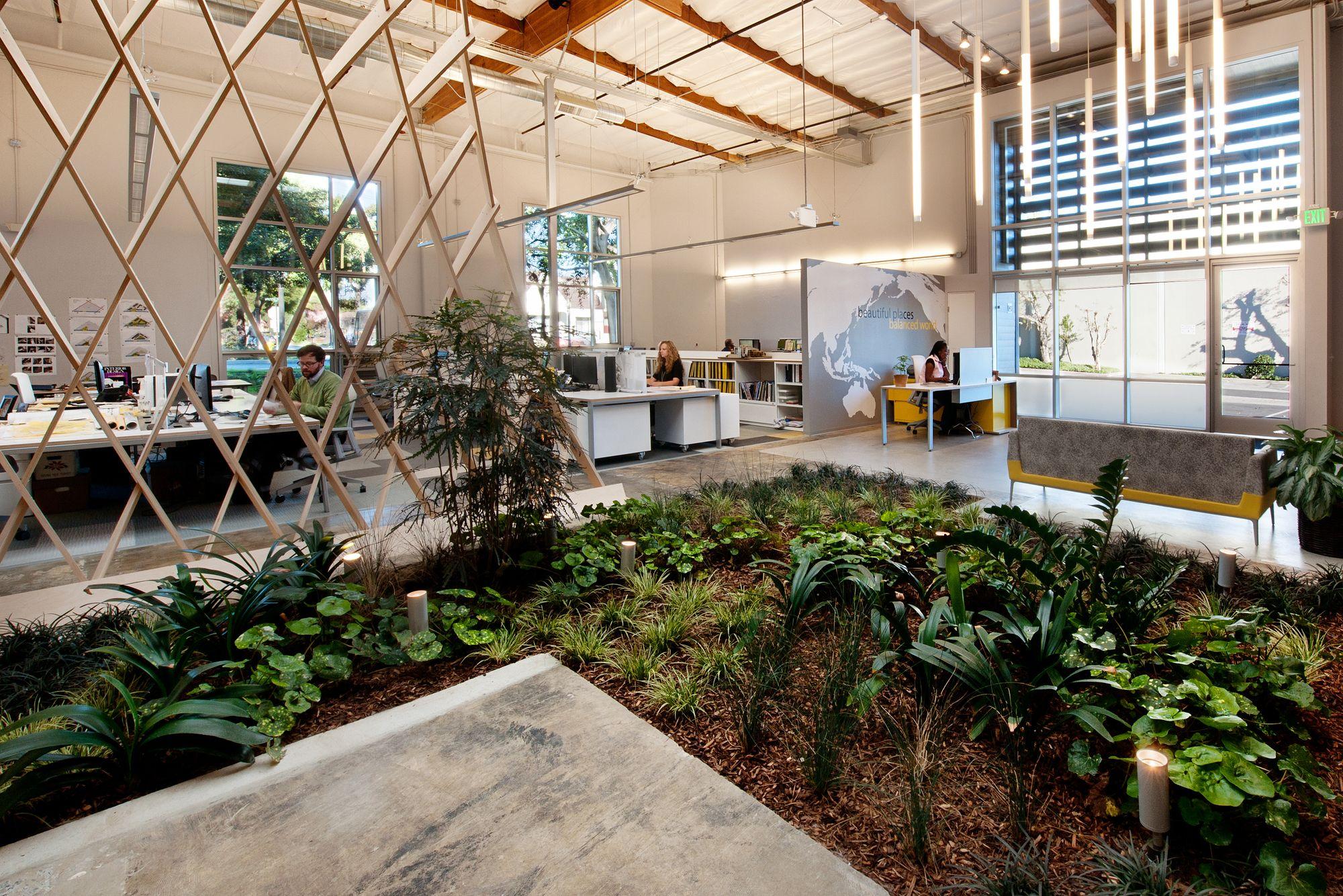 office garden design interior design