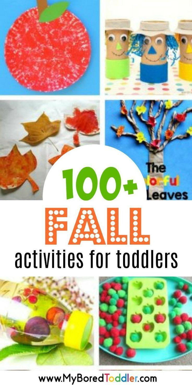 Toddlers #fallactivitiesforkids