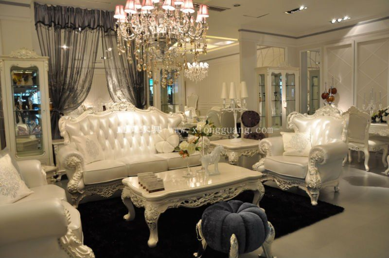 Luxury Living Room Furniture Palace Luxurious Neoclic French Rococ