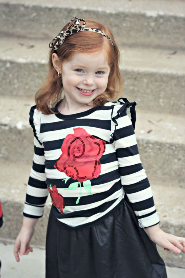 FabKids Rock Roses Outfit