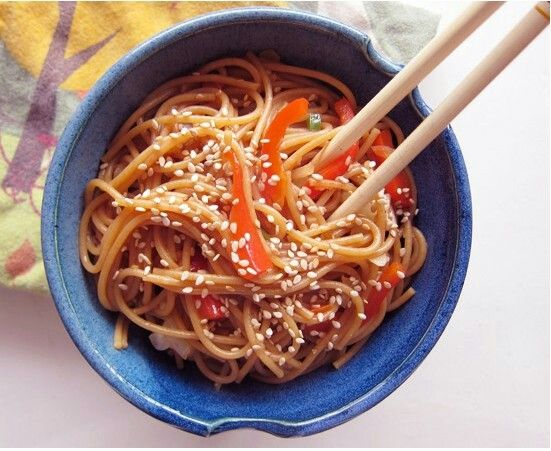 Spicy Garlic-Ginger Noodles