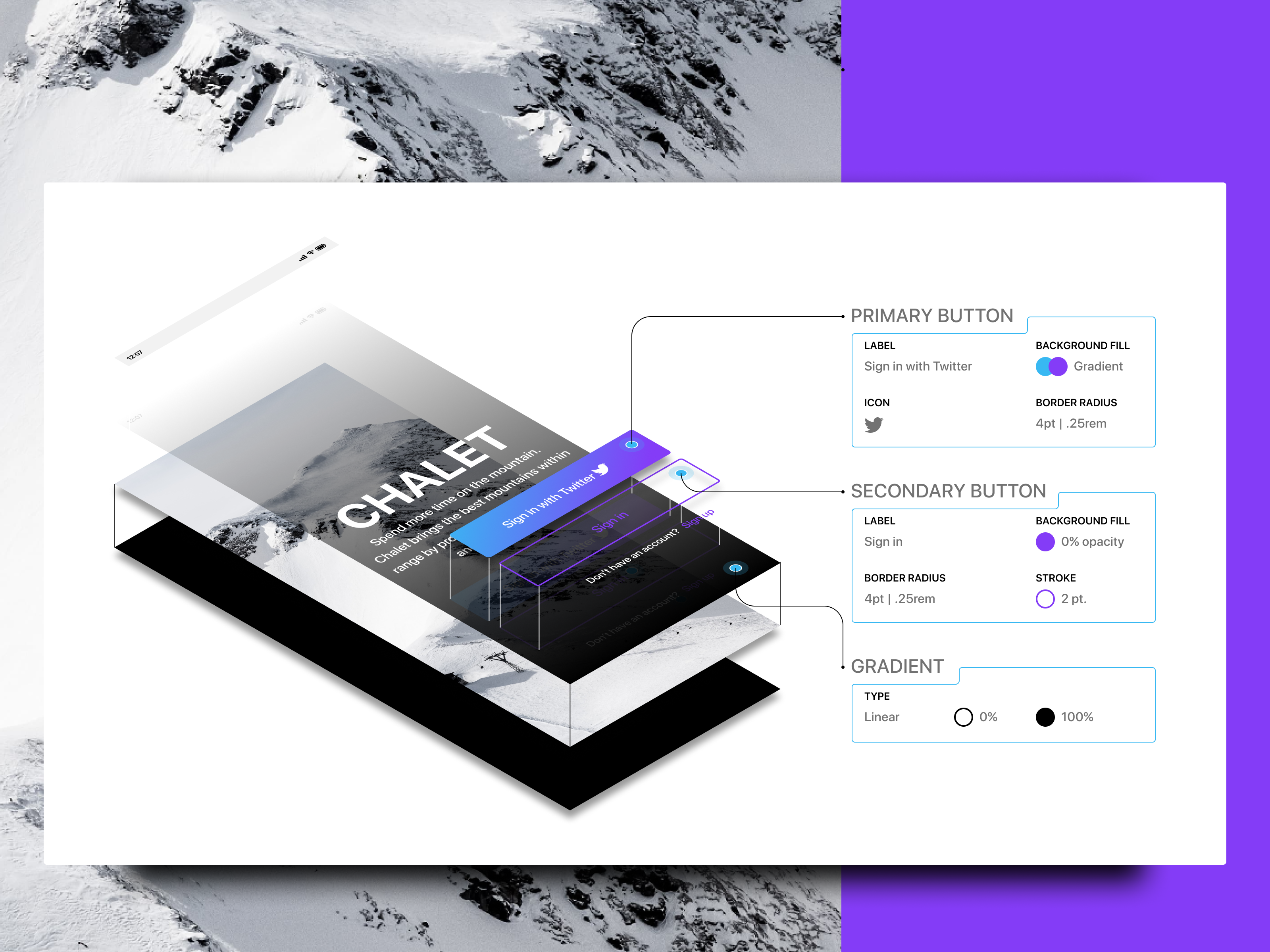 Chalet deconstruct 2x #ios #mobile #design #webdesign #ui