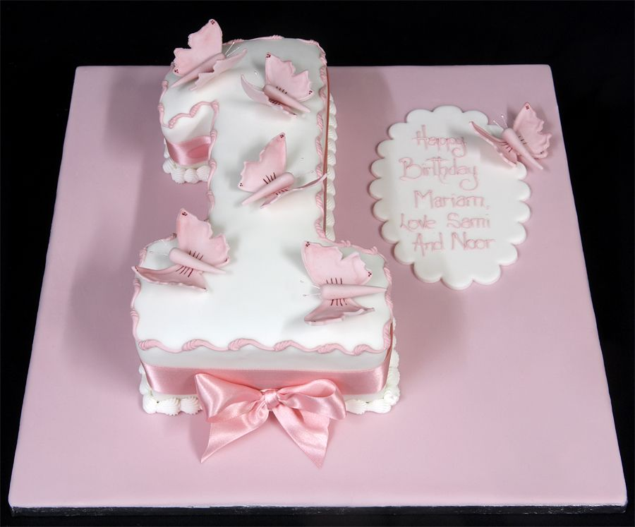 Birthday Cake Ideas First ~ Baby girl s first birthday pin first birthday cake pictures for