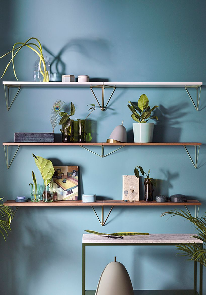 maze interior presents pythagoras shelf at maison et objet in 2018 ...