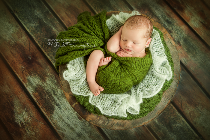 Peaceful baby girl can you tell my favourite colour yet newbornphotographer newbornphotographeredinburgh newbornphotography newbornphotogra
