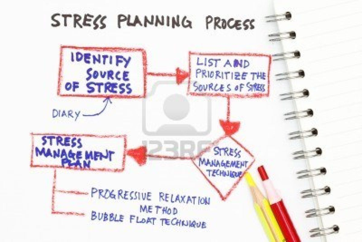 Stress Management Planning Process  Leadership