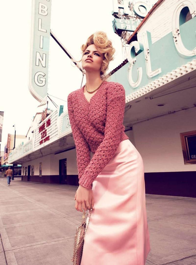 Viva Las Vegas Hailey Clauson By Nicole Bentley For Vogue Australia Jelanie Editorial Fashion Vogue Australia Fashion Photography
