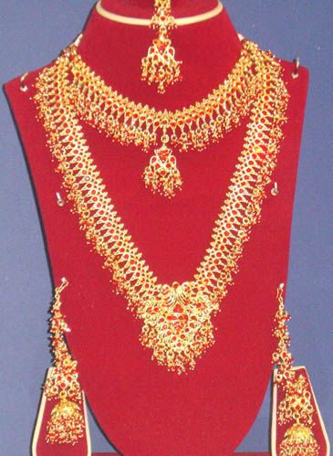Indian Bridal Gold Jewellery Sets Indian Indian Bridal Jewelry