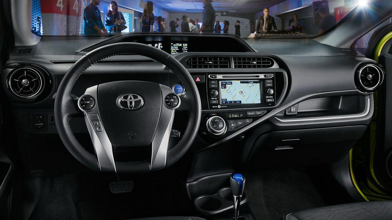Image For Toyota Prius Plug In Hybrid Interior