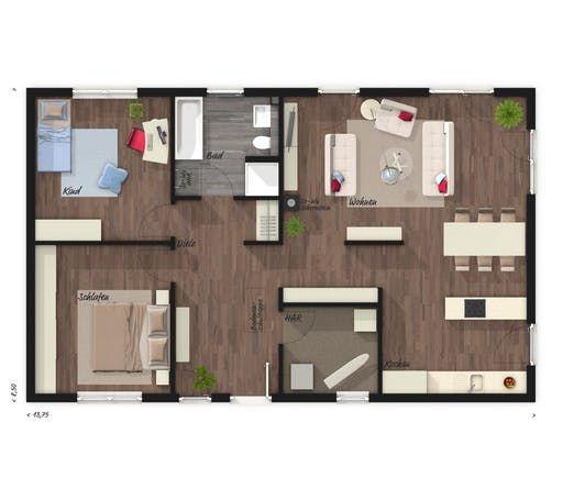 Einfamilienhaus Bungalow 100 von Town & Country Haus