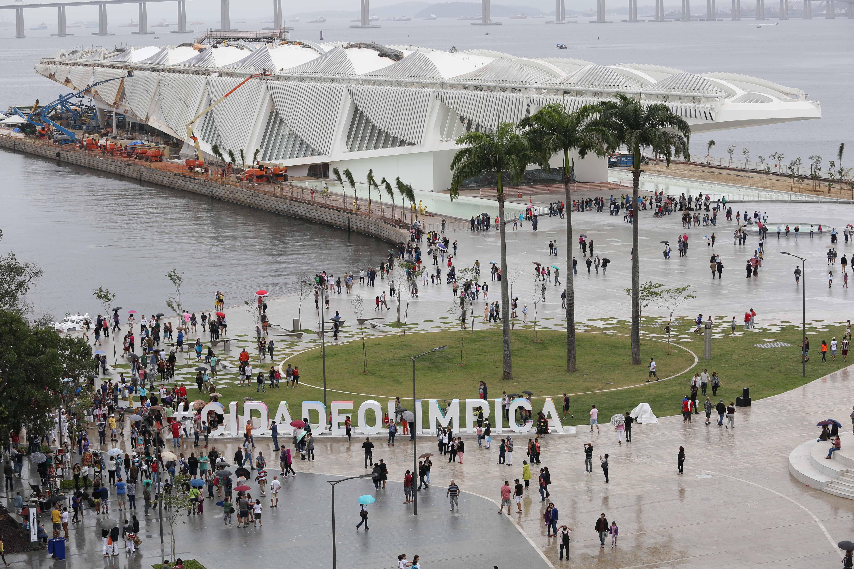 Píer Mauá - Museu do Amanhã - Rio de Janeiro