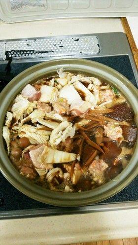 鍋 レシピ ぼたん