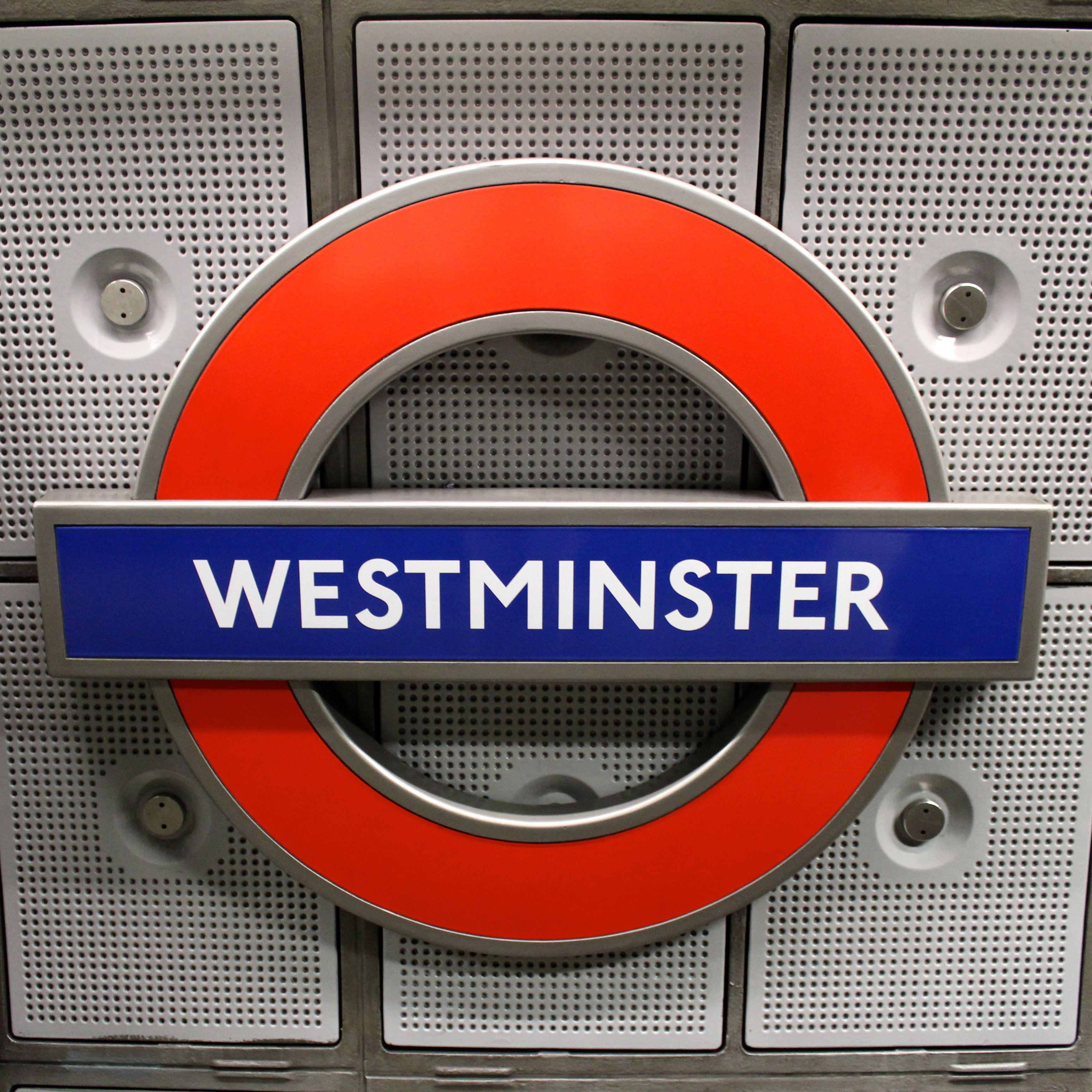 Westminster Tube Station London, England