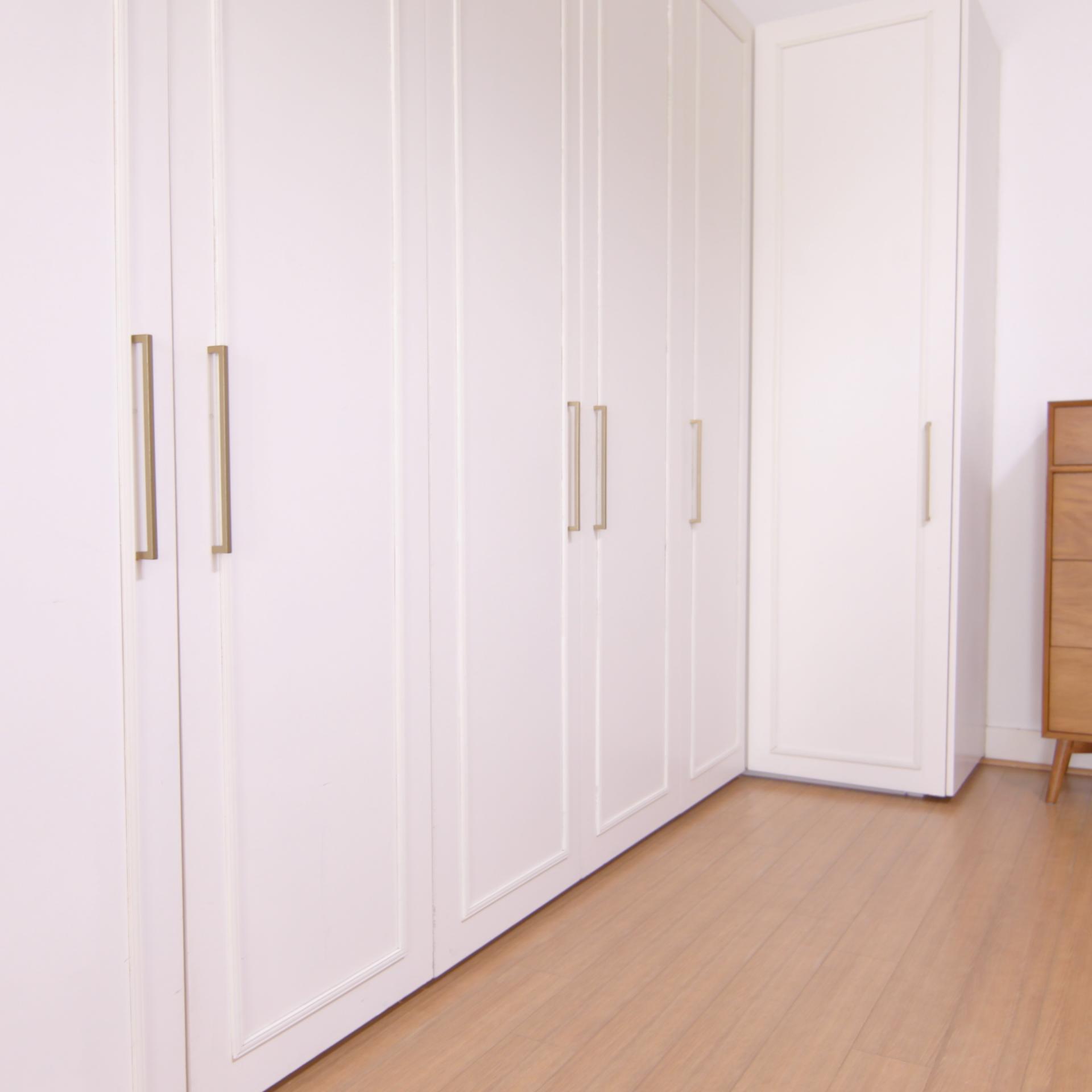 Glamming Basic Cabinets