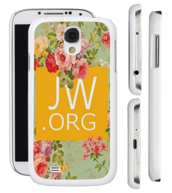 New Floral JW.org Samsung Galaxy S4 S3 Cell Phone Case Cover Jehovah's Witnesses Gift
