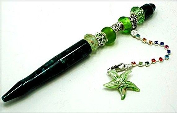 Bead Pen -- Easy Add a Bead | MiXed mEdIA & ALteReD aRT | Pinterest | Beads,  Altered art and Craft