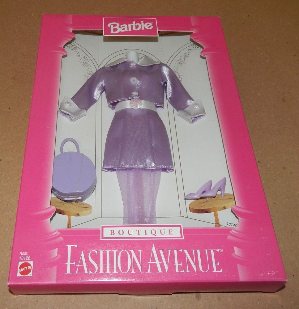 barbie fashion avenue collection real clothes boutique mattel 18126barbie fashion avenue collection real clothes boutique mattel 18126 nib 97 121t