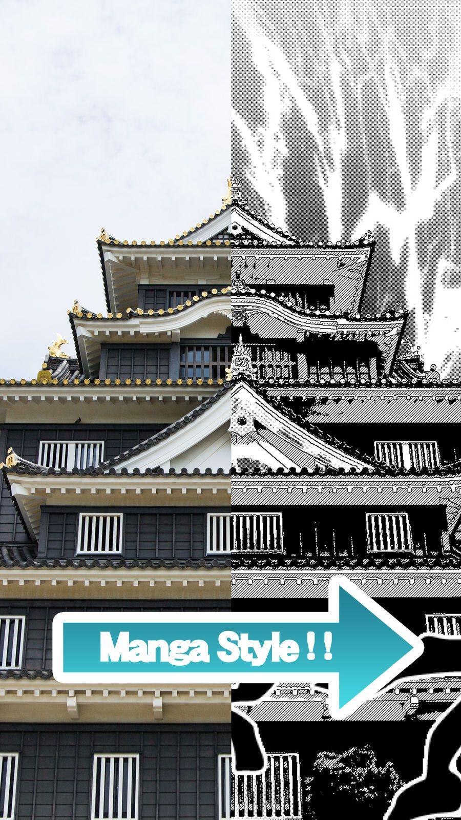 Manga comic camera create comicstyle photos with