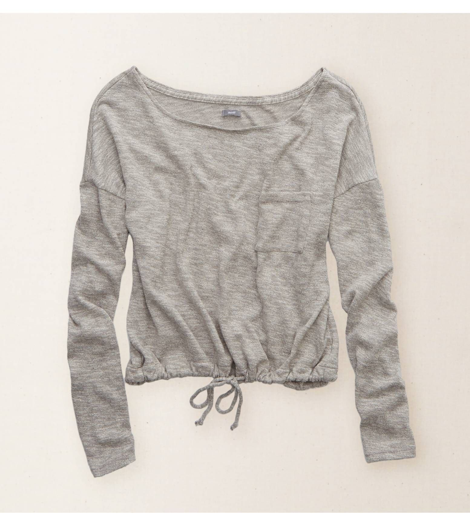 Gris losa top con cordón aerie dress me up pinterest american