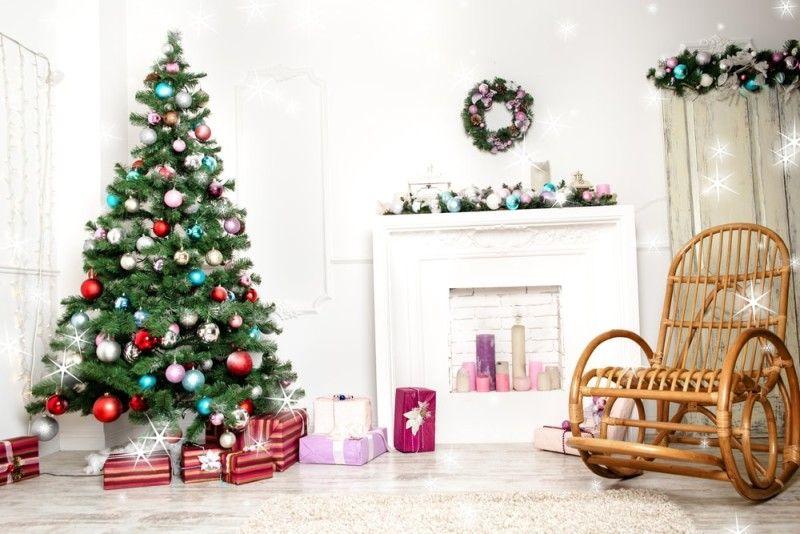 Christmas Decor For Home And Exterior Christmas Lights Christmas Backdrops Christmas Photography Props Christmas Photography Living room background with christmas