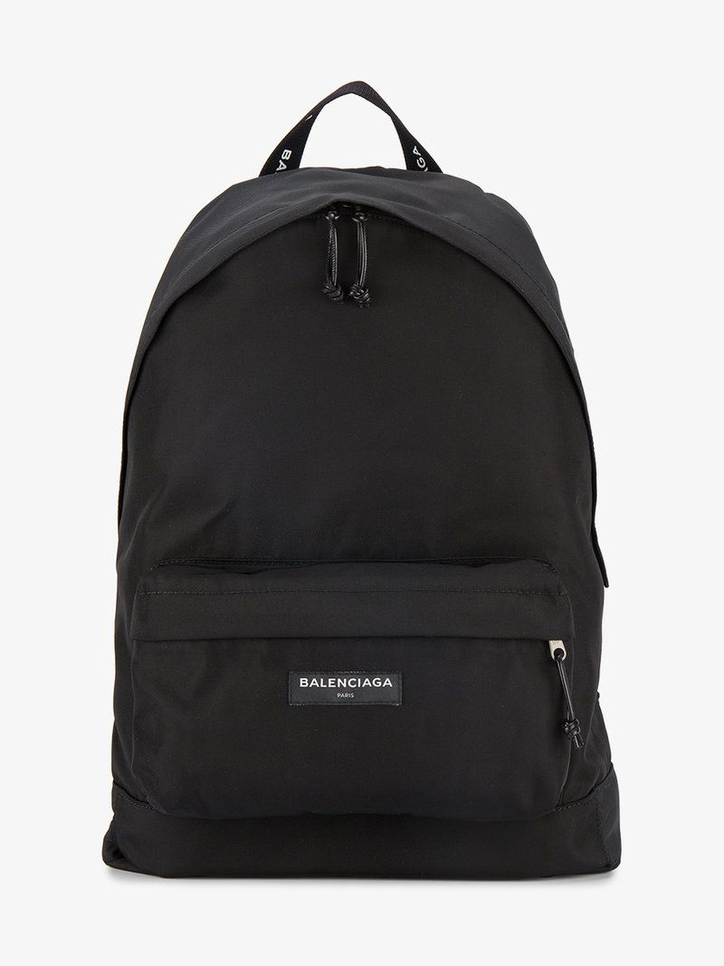 78734f939a BALENCIAGA NYLON LOGO BACKPACK. #balenciaga #bags #nylon #backpacks ...
