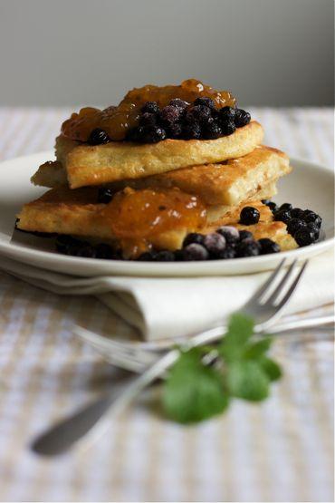 vegan pancake (pannukakku)