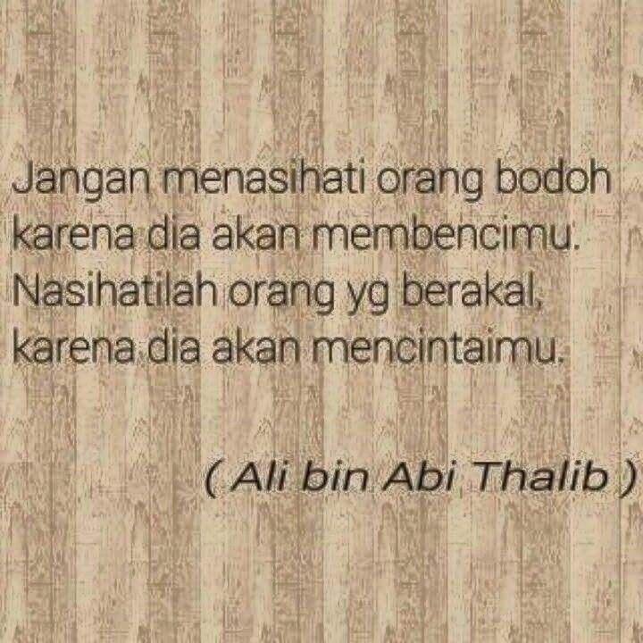 Ali Bin Abi Thalib Dengan Gambar Motivasi Kutipan Rohani