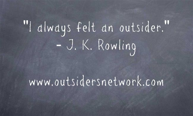 I Always Felt An Outsider Jk Rowling Quotes About Being An
