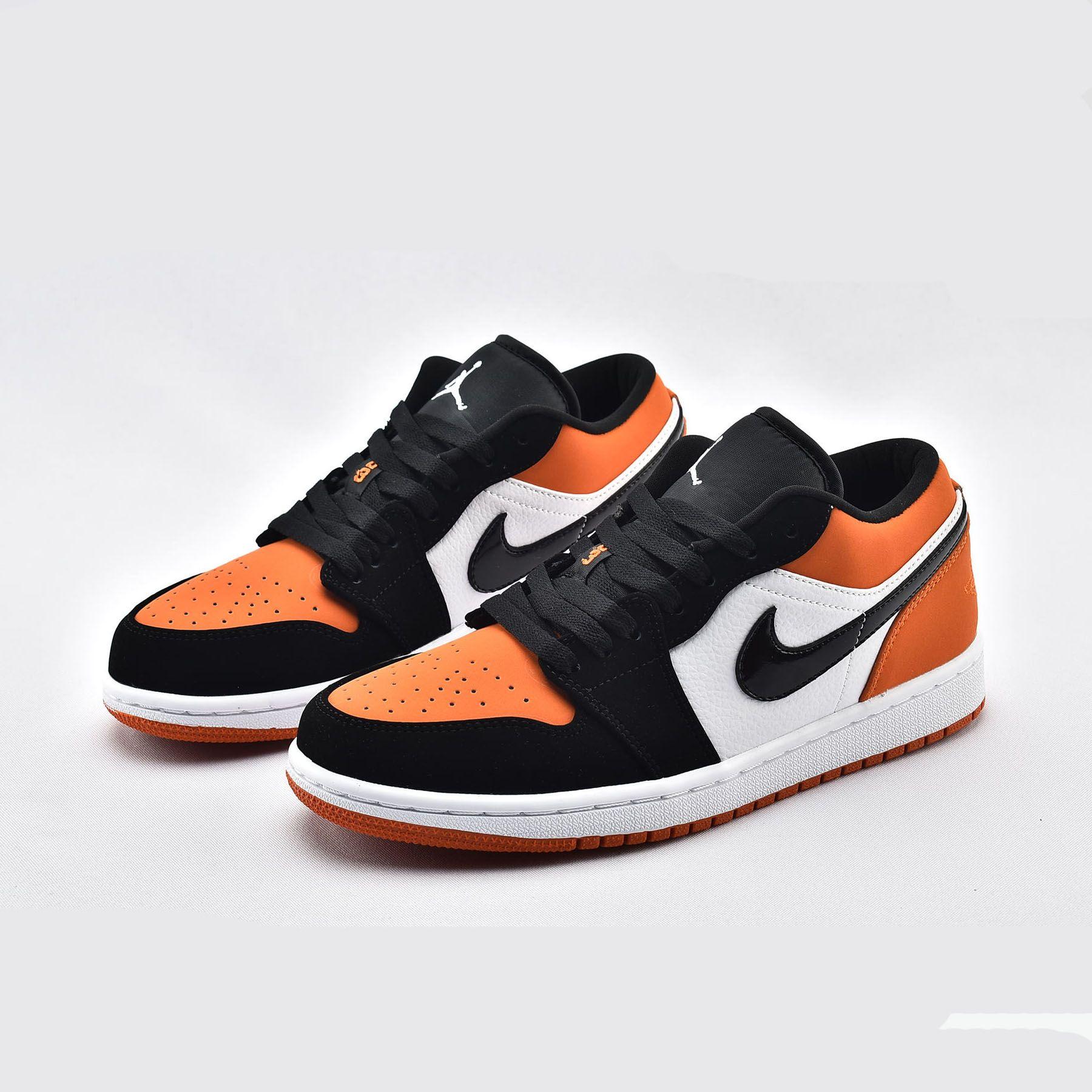 "Air Jordan 1 Low ""Shattered Backboard"" 553558128 Orange"