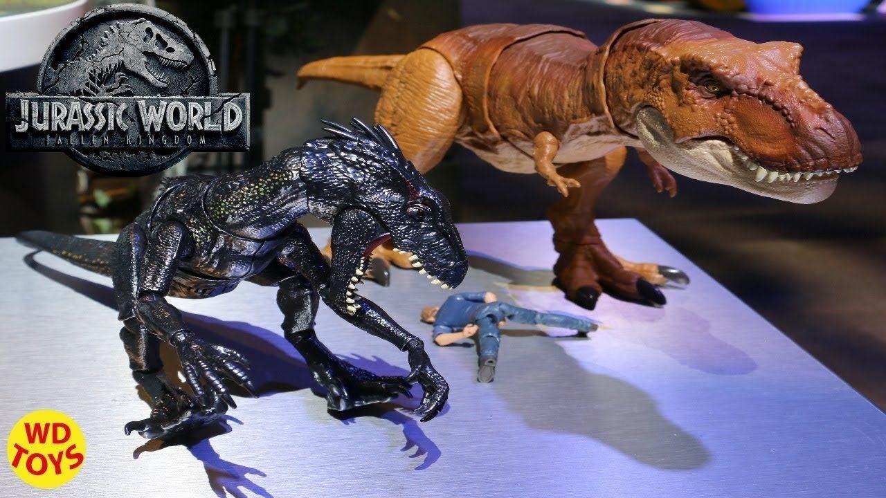 Jurassic World Fallen Kingdom Indoraptor Dinosaur Mattel Dino Action Figure Toy