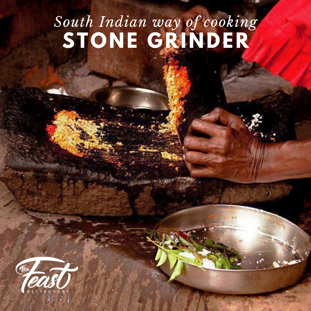 The Grandma S Grindstone Classic Tool In The South Indian Kitchens Where The Age Old Traditional Indian Spices Are Ground Laboriously By Hand T I 2020 Matlaging Mat