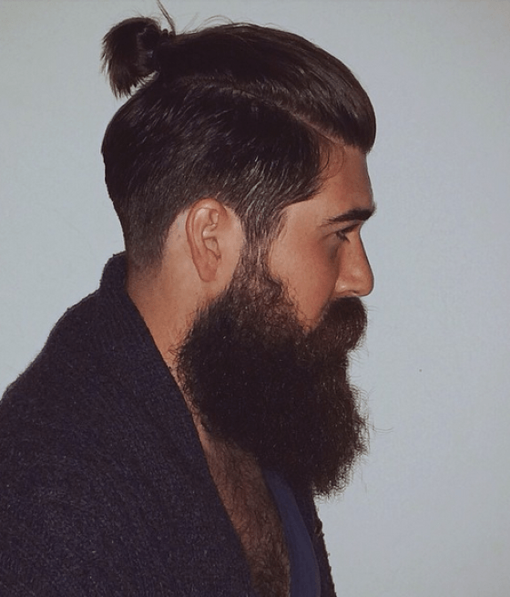 Bandholz Beard With Pony Tail Mens Fashion 2019 In 2019 Hair