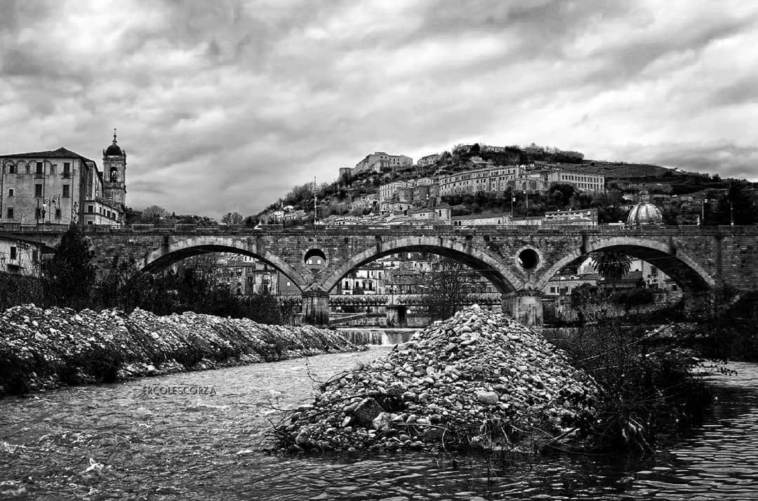 #landscape #landscapephotography #alaricobridge #church #sanfrancescodipaola #sandomenico #river #Crati #blackandwhite...