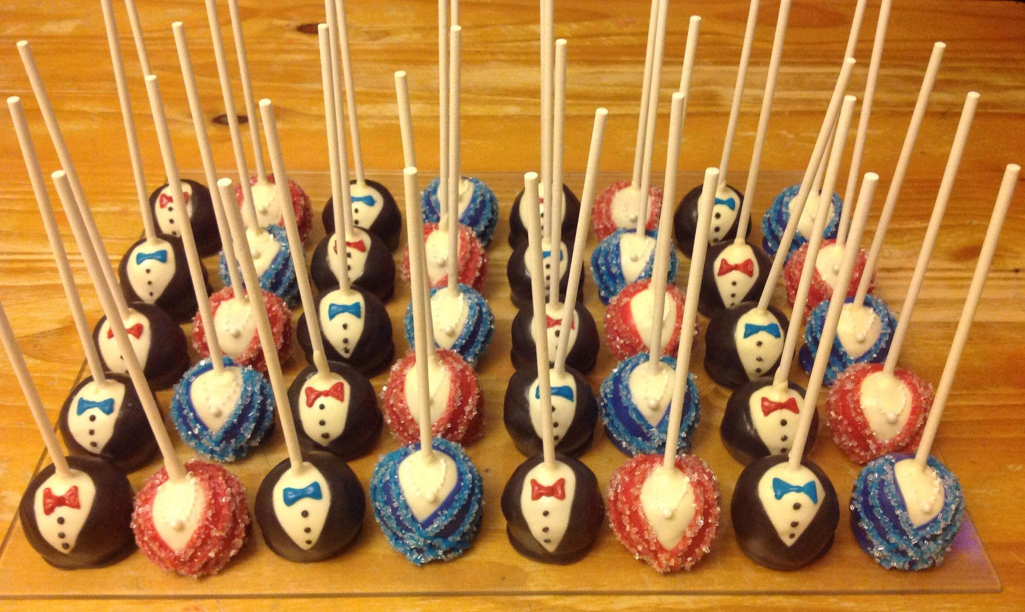 Red Carpet Hollywood Cake Pops