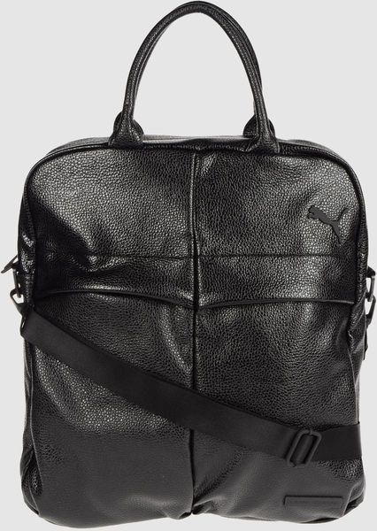 b39587cb4c Puma X Hussein Chalayan Large Fabric Bag in Black
