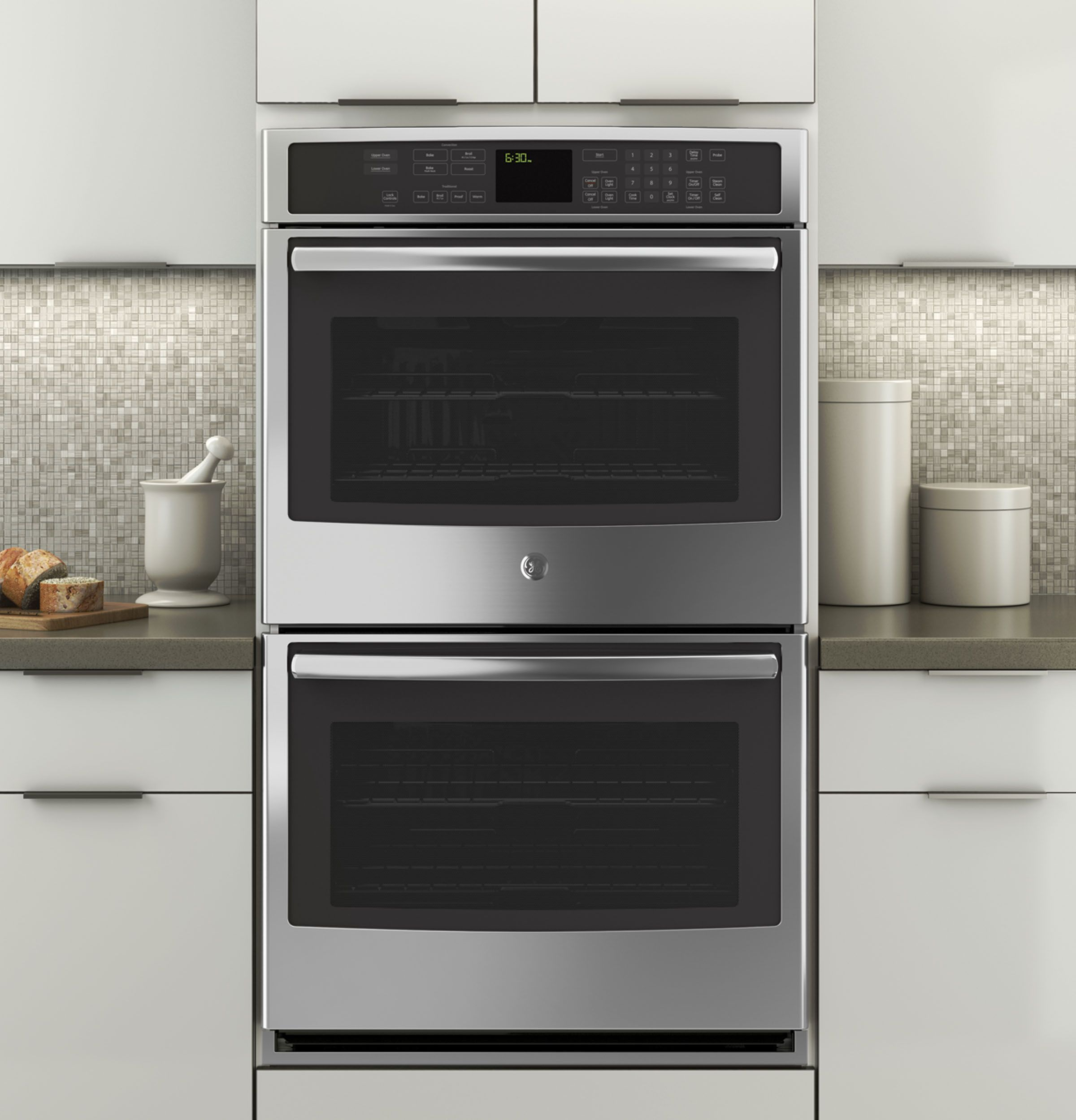 Pt7550sfss Ge Profile Series 30 Built In Double Wall Oven With