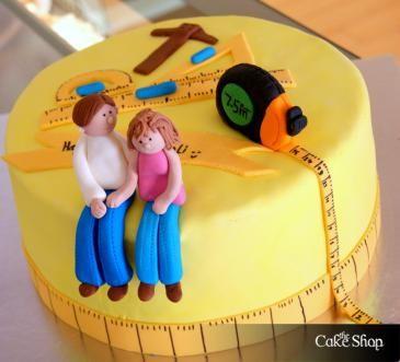 2019 year style- Designer Interior birthday cake