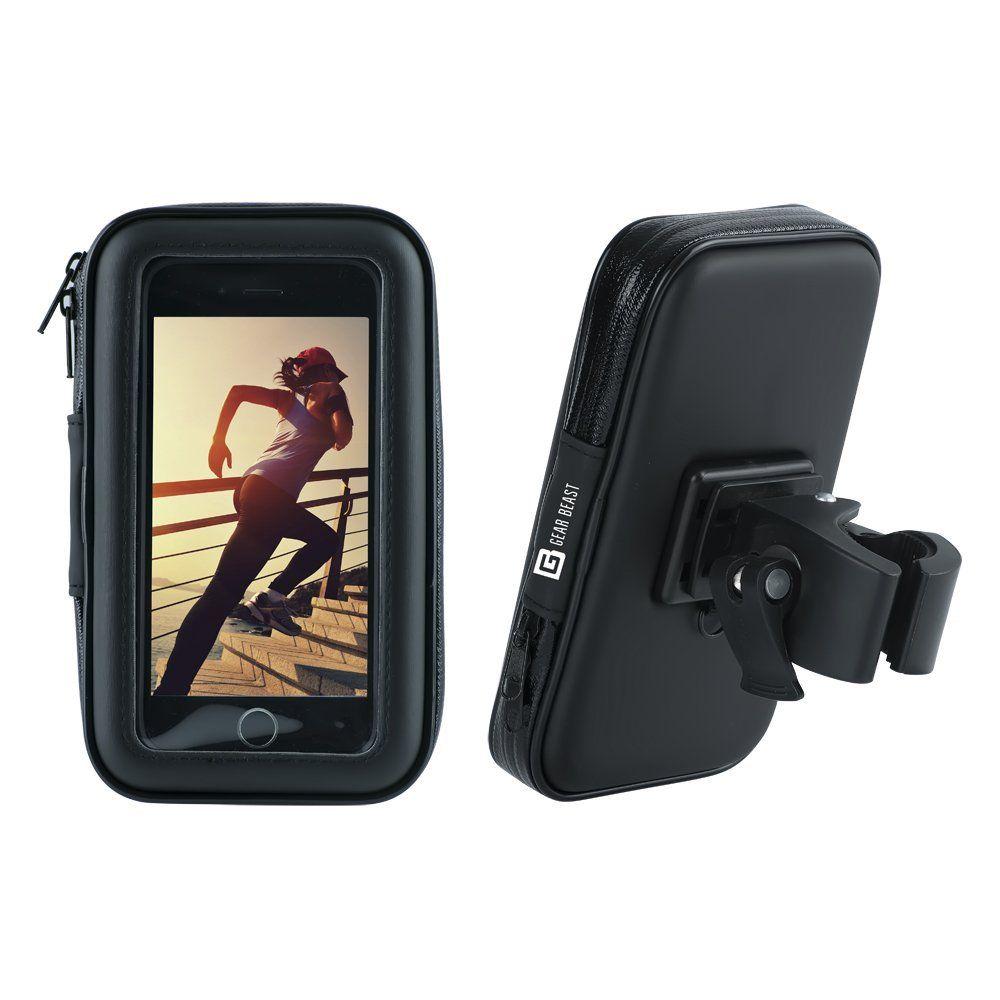 online retailer caa14 c84d9 Gear Beast Waterproof Case Bike Phone Mount Mobile Cell Phone Holder ...