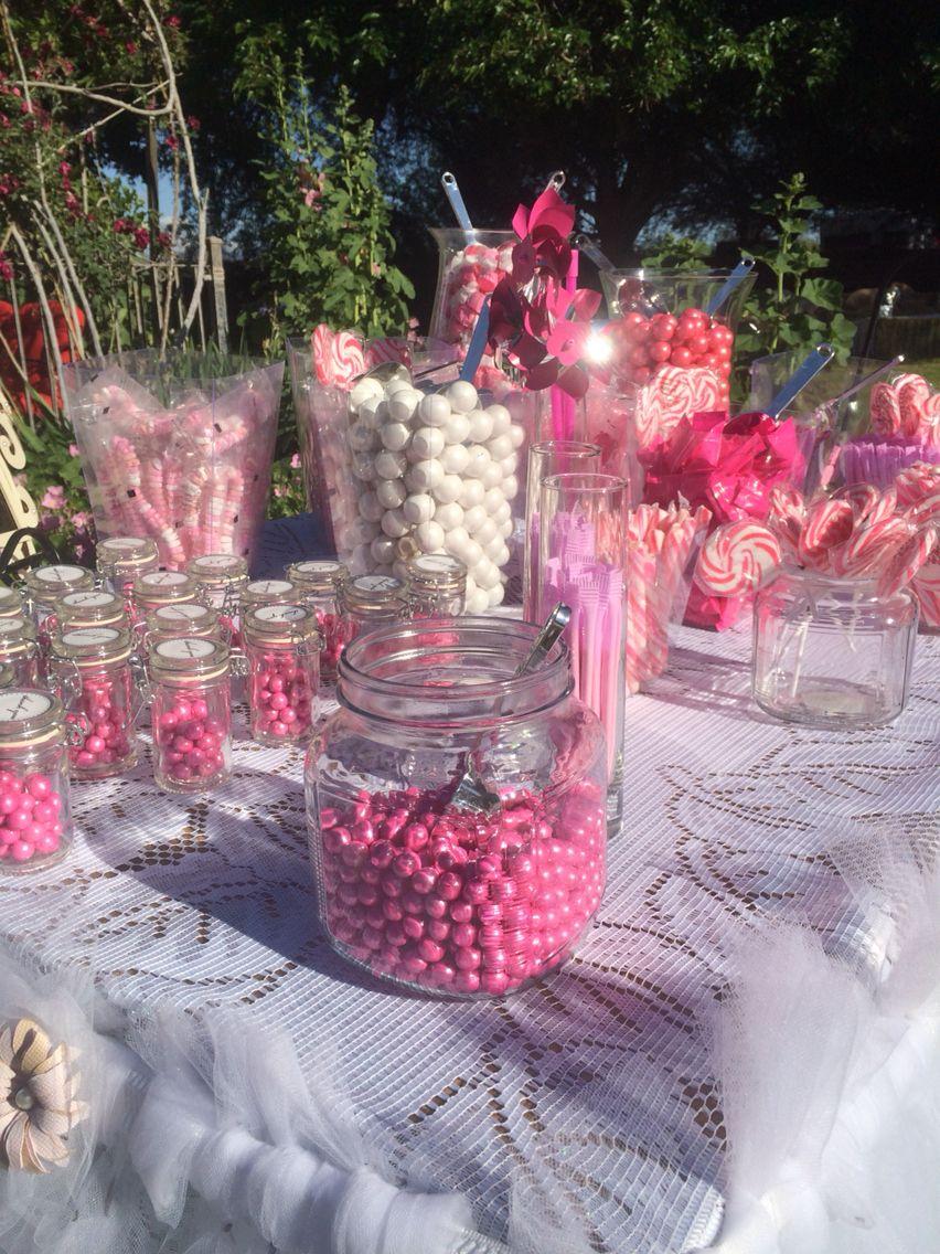 Candy bar Agua Linda Farm   Wedding Cakes and Desserts   Pinterest ...