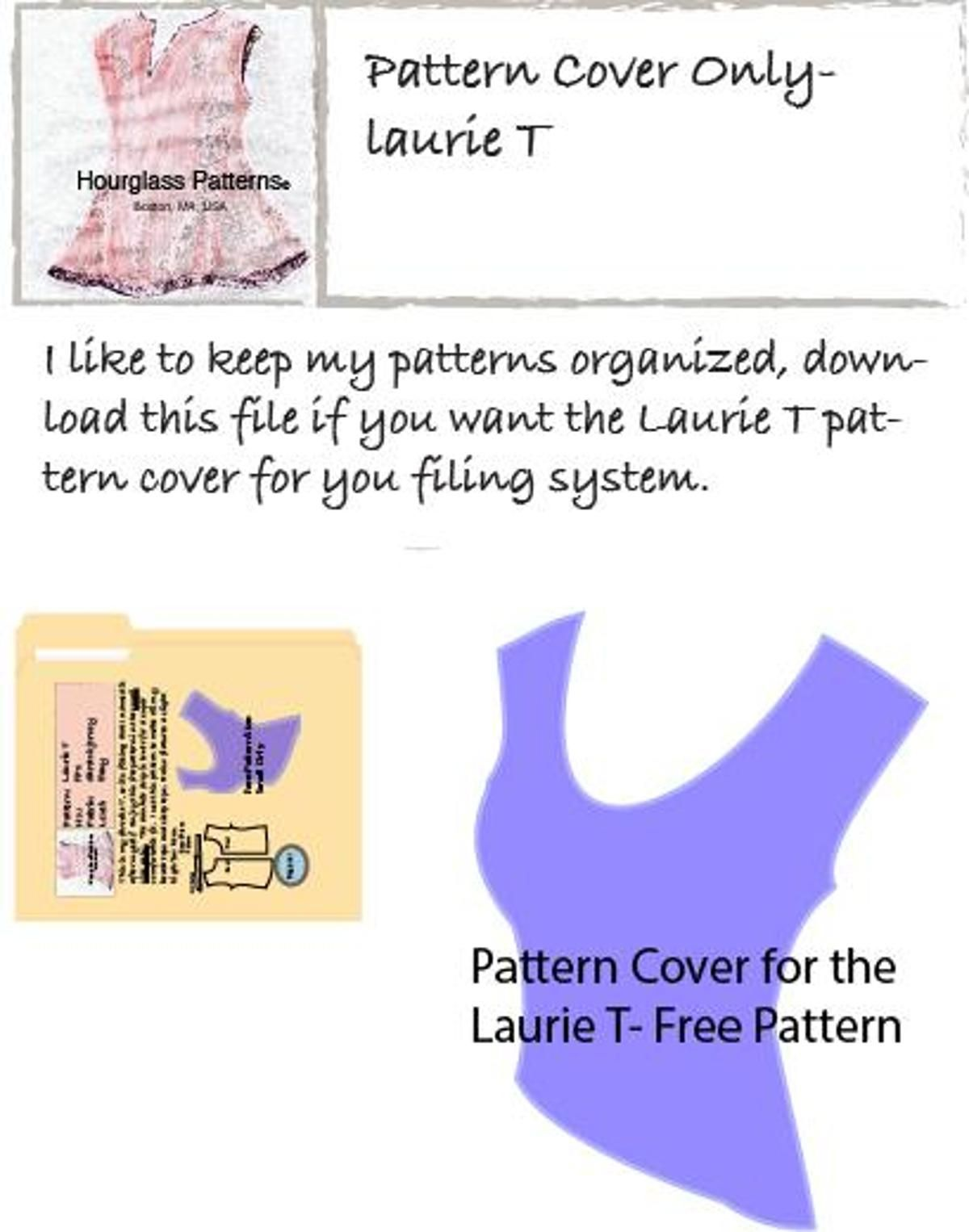 Pattern Cover for Free Laurie T | Sewing Patterns | Pinterest