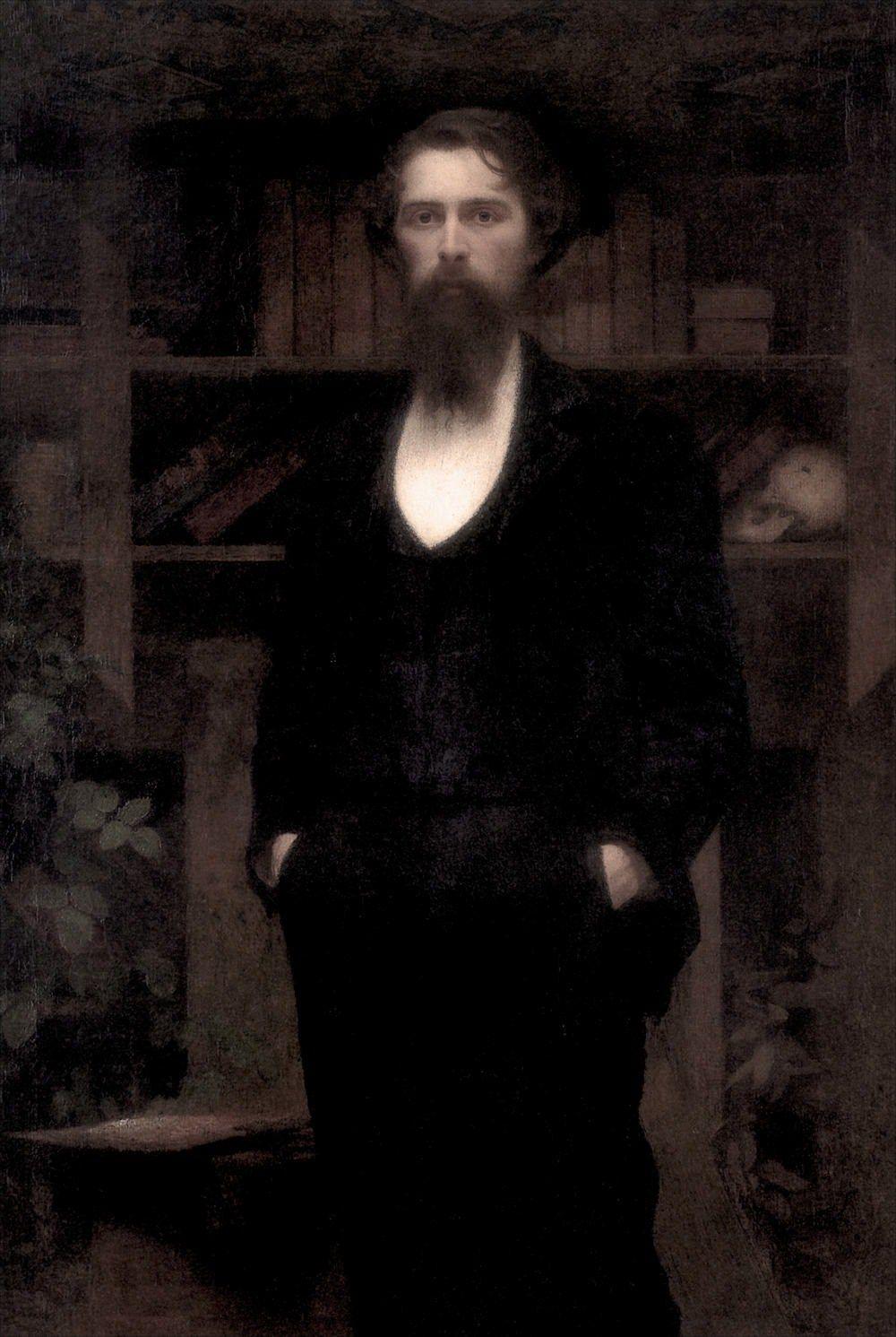 Giuseppe Pellizza da Volpedo · Autoritratto · 1897 · Uffizi · Firenze