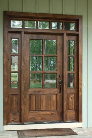 Farmhouse Style Front Doors With Glass Google Search Forthehome