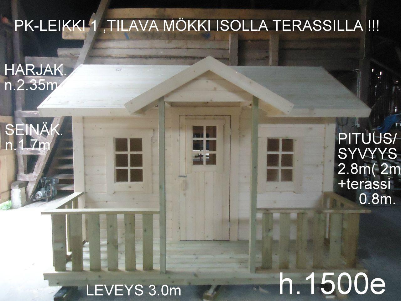 LEIKKI 1 (6m2+ 2.4m2 - www.pkpiharakennus.fi