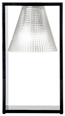 Lampe de table Light-Air / Abat-jour plastique sculpté - Kartell ...