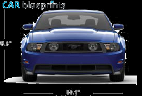 2011 ford mustang coupe blueprint