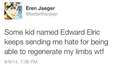 come on now, Eren..