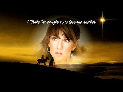 Celine Dion O Holy Night With Lyrics Merry Christmas And Happy New Year Merry Christmas And Happy New Year O Holy Night Celine Dion